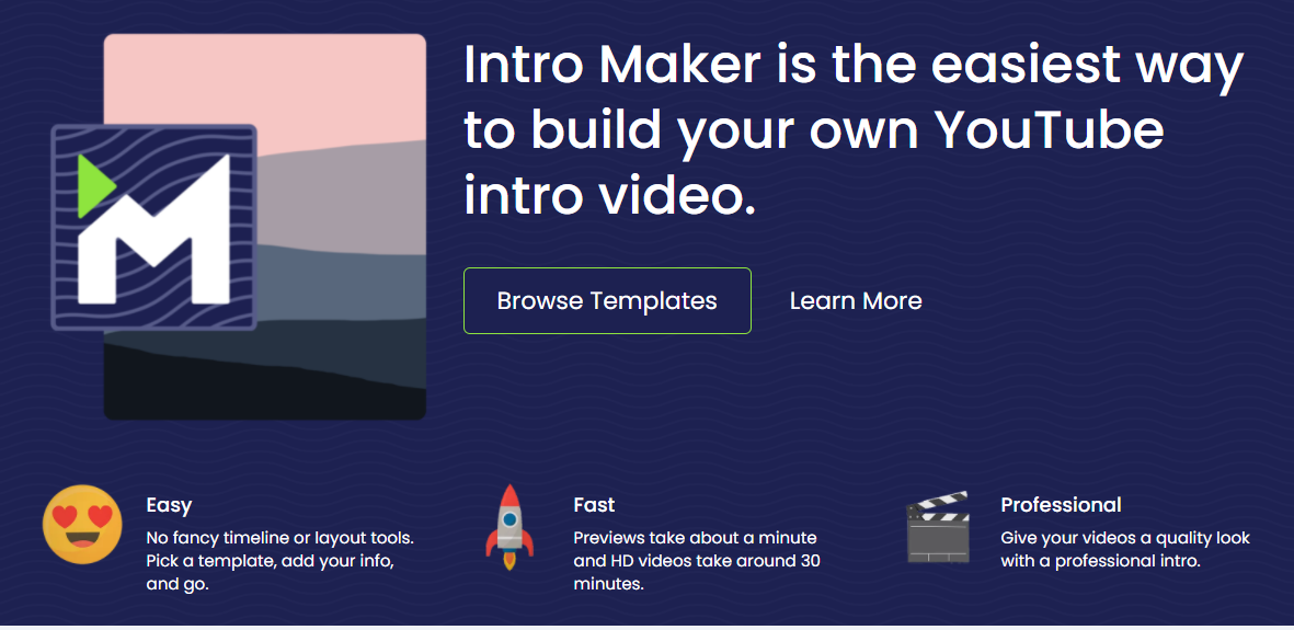 IntroCave is now Intro Maker