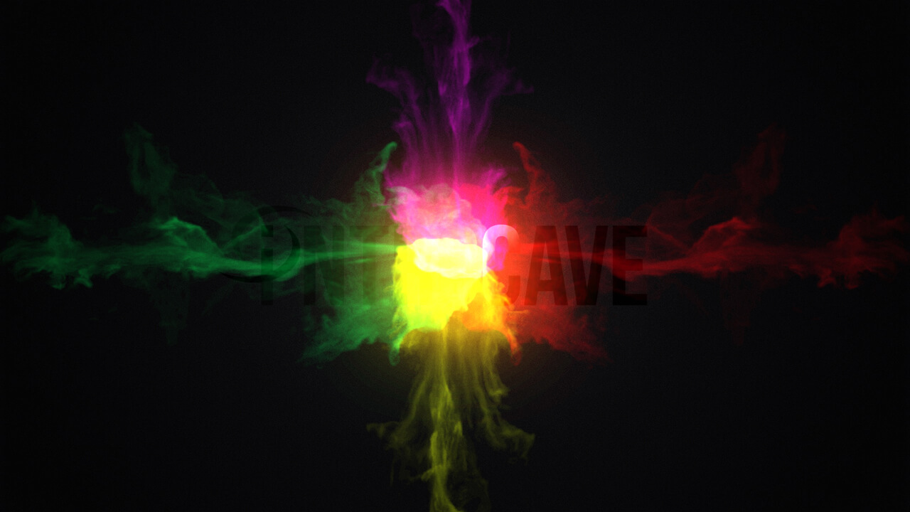 Colorful Smoke Logo