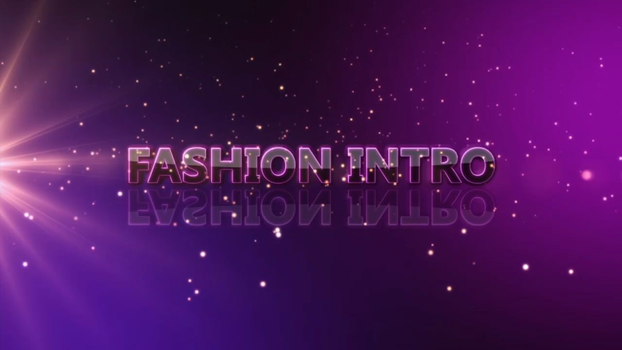Customize the text for Fashion Intro to view your free intro movie.