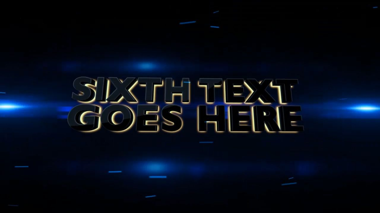 Customize the text for Need For Speed to view your free intro movie.