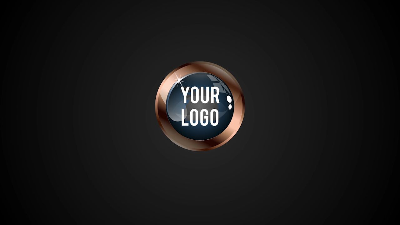 Customize Logo Drop - Dark with your own logo or image to view your free intro movie.