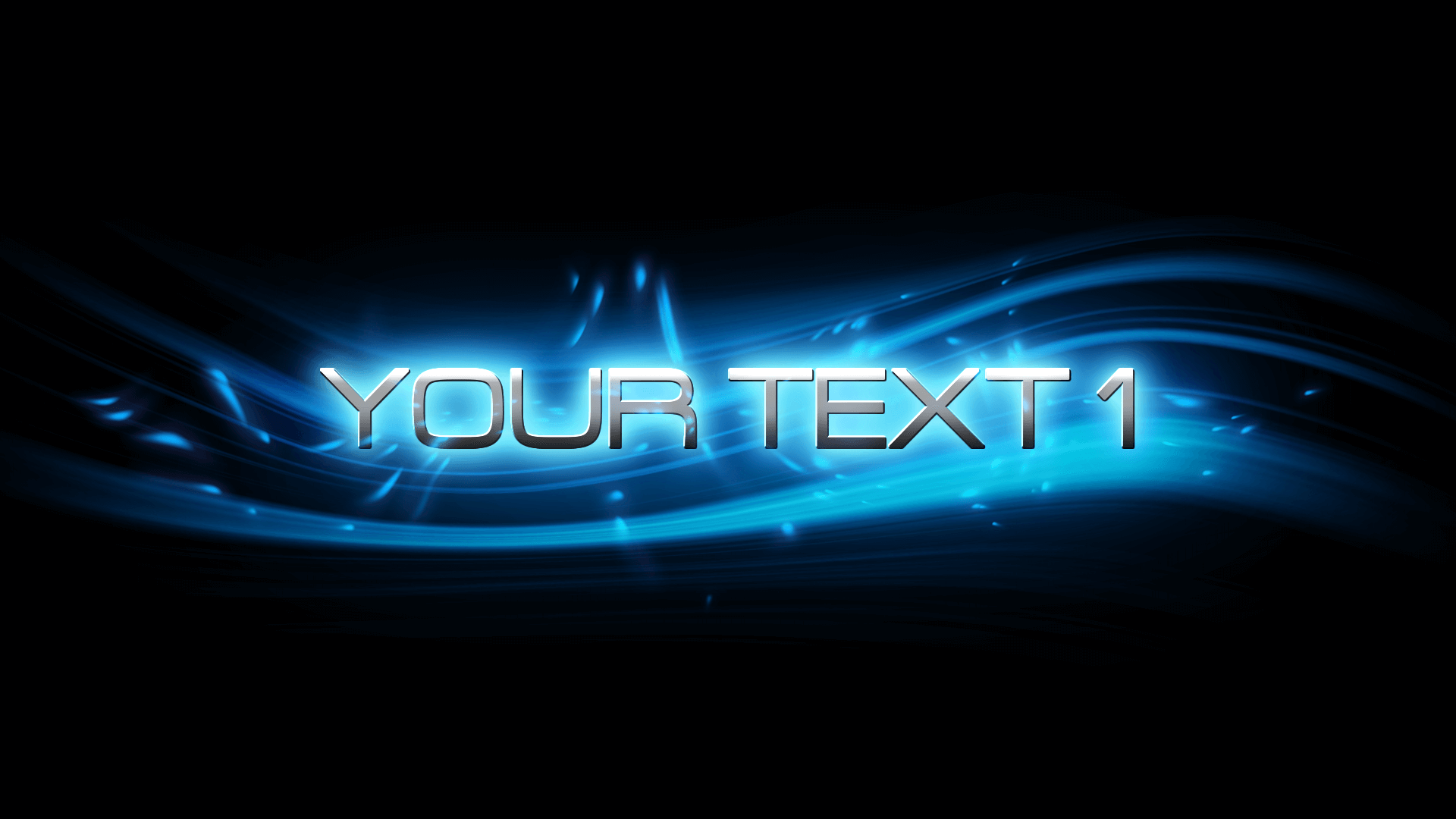 Customize the text for Blue Bloom Titles to view your free intro movie.