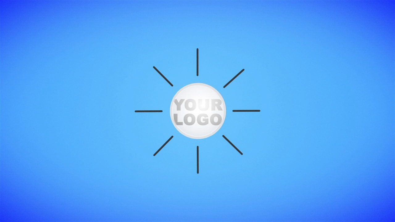 Customize Colorful Flat - Logo with your own logo or image to view your free intro movie.