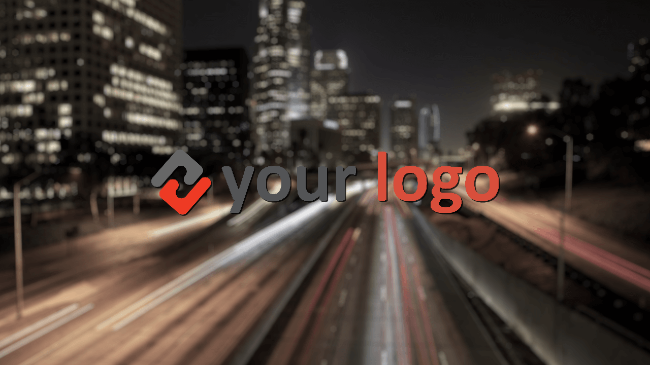 Customize Dark City Lights with your own logo or image to view your free intro movie.