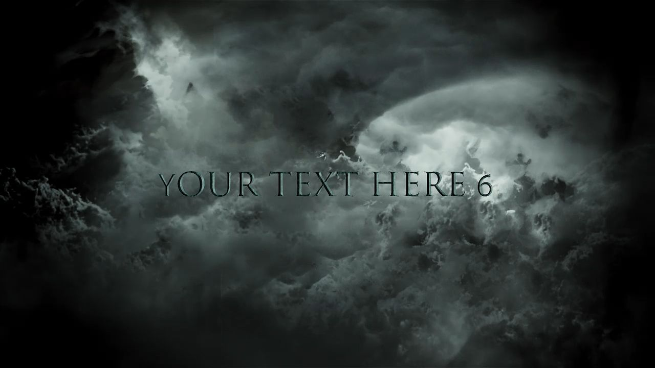 Customize the text for Dark Clouds to view your free intro movie.