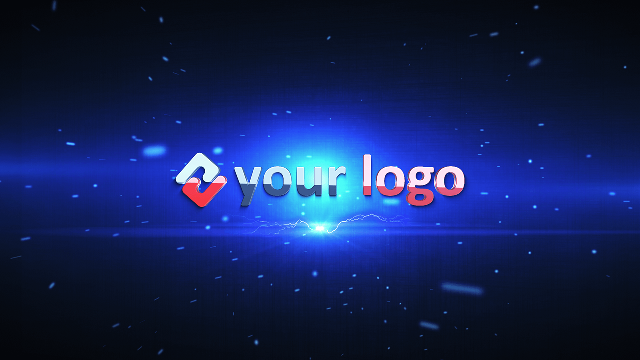 Customize Electric Impact Logo with your own logo or image to view your free intro movie.