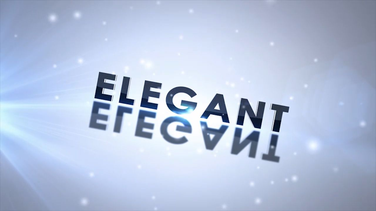 Customize the text for Elegant - Logo to view your free intro movie.