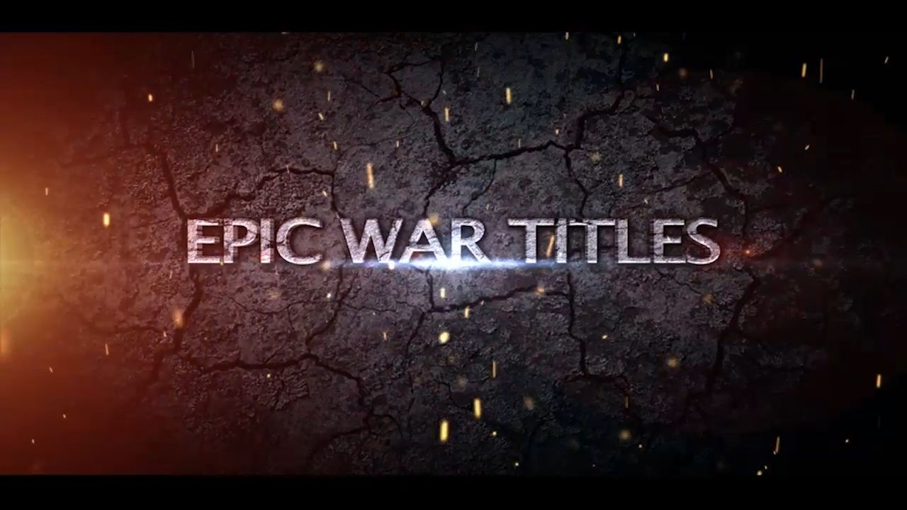 Customize the text for EPIC TITLES to view your free intro movie.