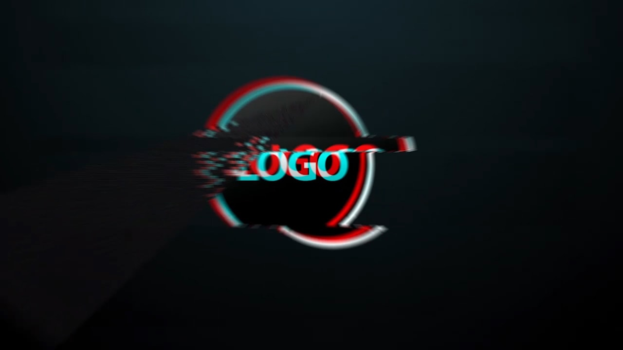 Customize Glitch Ver 3 - Logo with your own logo or image to view your free intro movie.