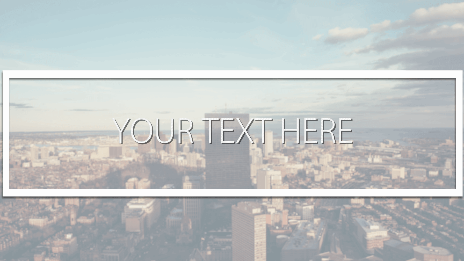 Customize the text for Modern Metro - Logo to view your free intro movie.