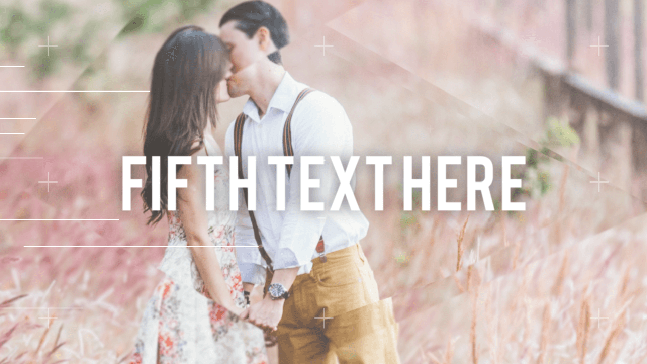 Customize the text for Romantic Scenes Long to view your free intro movie.