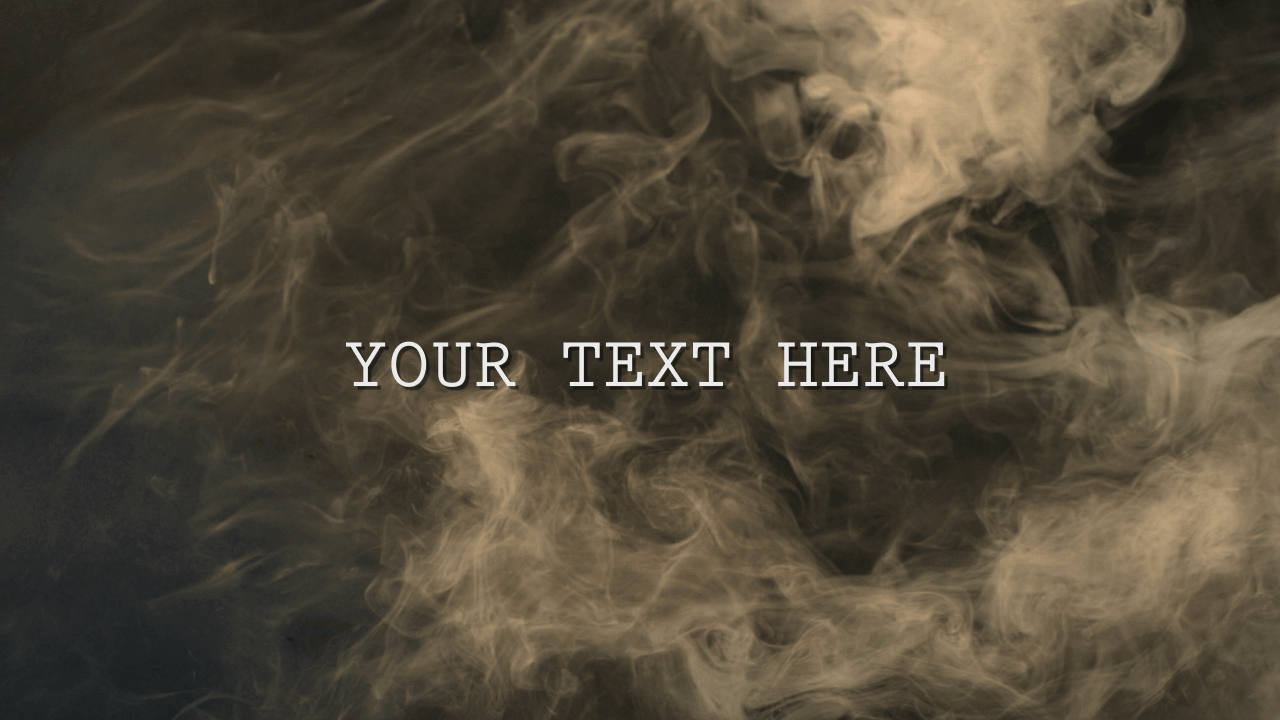 Customize the text for Smokey Reveal - Logo to view your free intro movie.