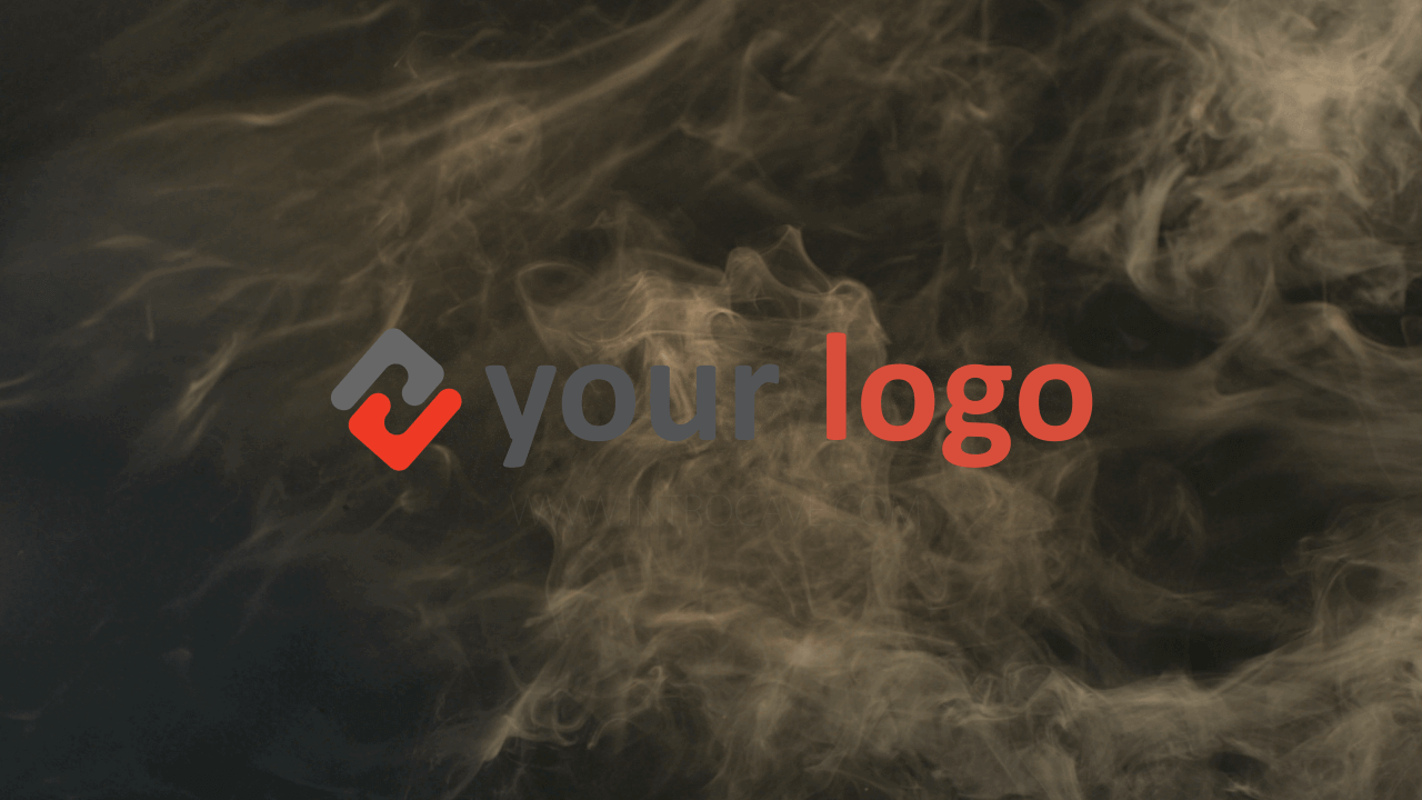 Customize Smokey Reveal - Logo with your own logo or image to view your free intro movie.
