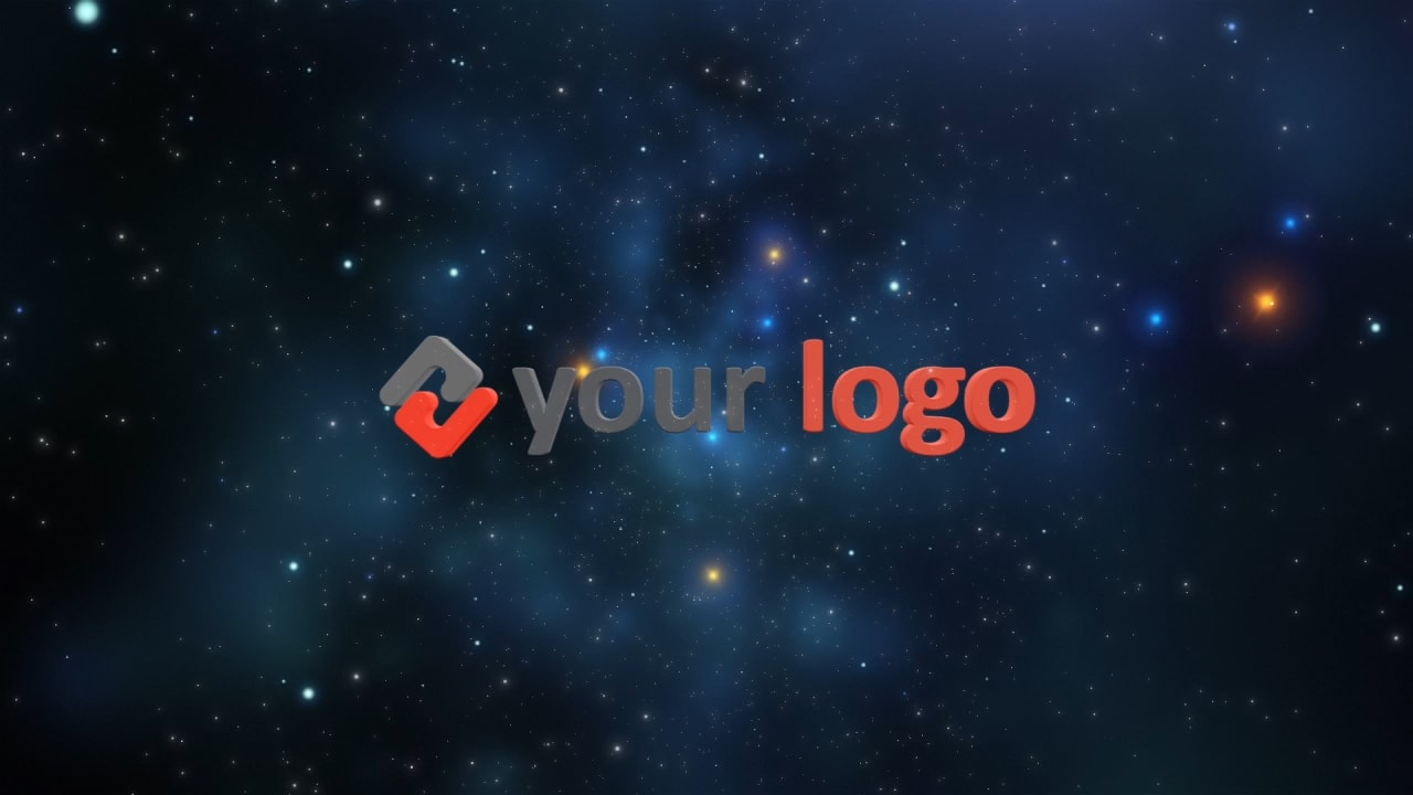 Customize Starfield - Logo with your own logo or image to view your free intro movie.