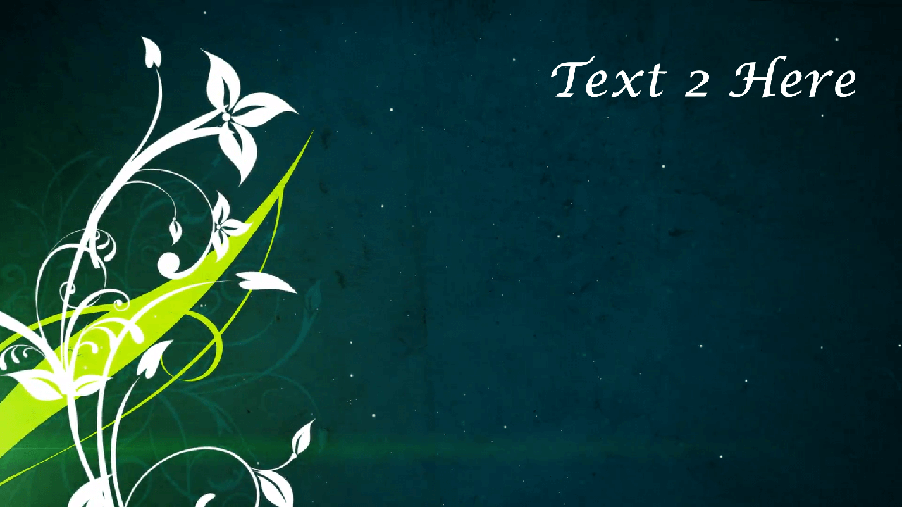 Customize the text for Stylish Spring Flowers to view your free intro movie.