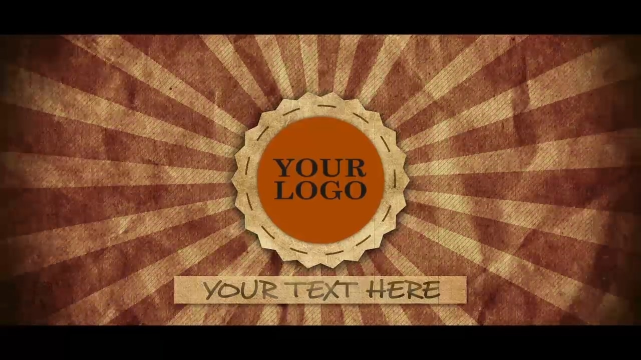 Customize the text for Vintage - Logo to view your free intro movie.