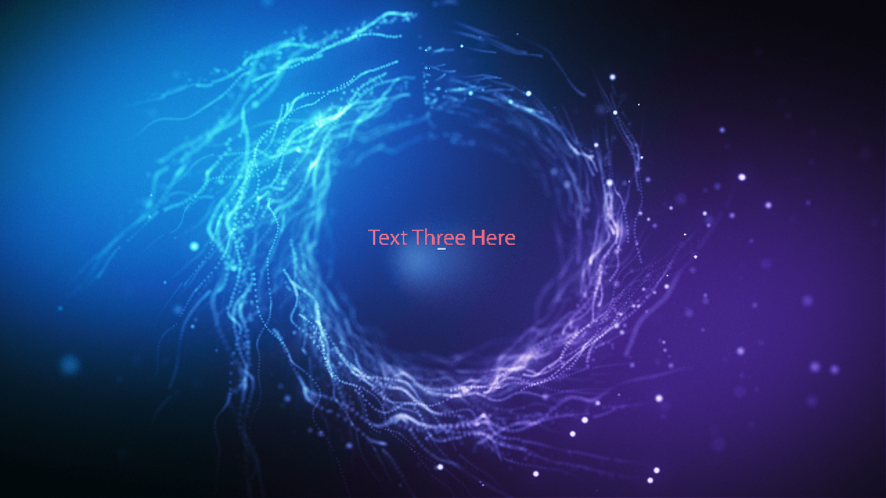 Customize the text for Wormhole Titles to view your free intro movie.