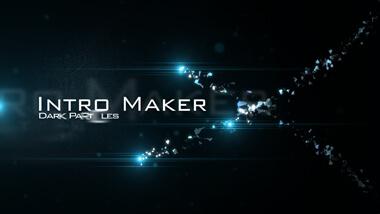 Dark Particles - Logo