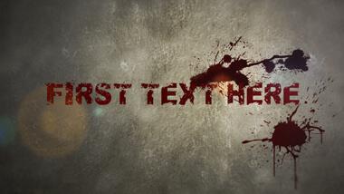 Blood Drops Titles