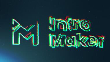 Colorful Glitch Logo