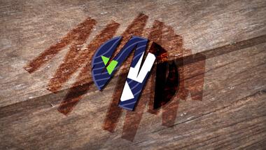 Wooden Logo Small