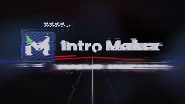 VHS Glitch Logo