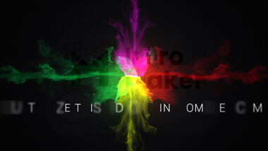 Colorful Smoke Logo