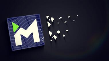 Dark 3D Logo v2