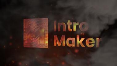 Stylish Fire Logo