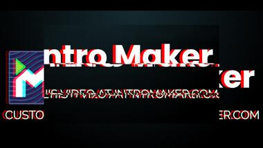 Short Glitch Logo