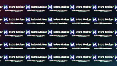 Long Digital Glitch Screen