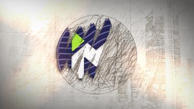 Draft Sketch Circle Logo